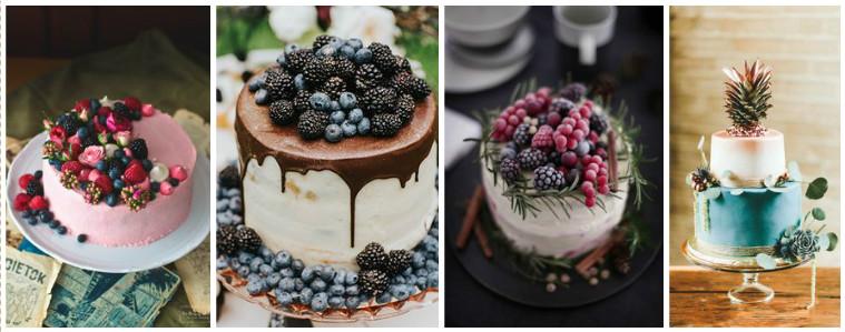 gyümis torták